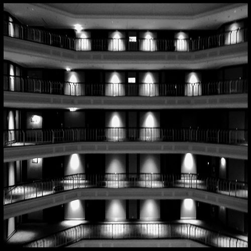 Westin Grand Hotel Berlin Germany🇩🇪 Architecture Building Exterior Built Structure No People Full Frame Illuminated Backgrounds Residential District Light - Natural Phenomenon In A Row Window Building Night Repetition City Pattern Reflection Modern Parking Garage