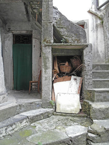 Glimpse of old town Italia Old Town South Italy Stairs Steps Abandoned Architecture Bad Condition Building Exterior Built Structure Calabria Damaged Destruction Door Glimpse House Obsolete Old Old Ruin Open Door Run-down Verbicaro Weathered