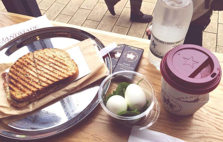 Pret A Manger Cafe Food Toasted Sandwich