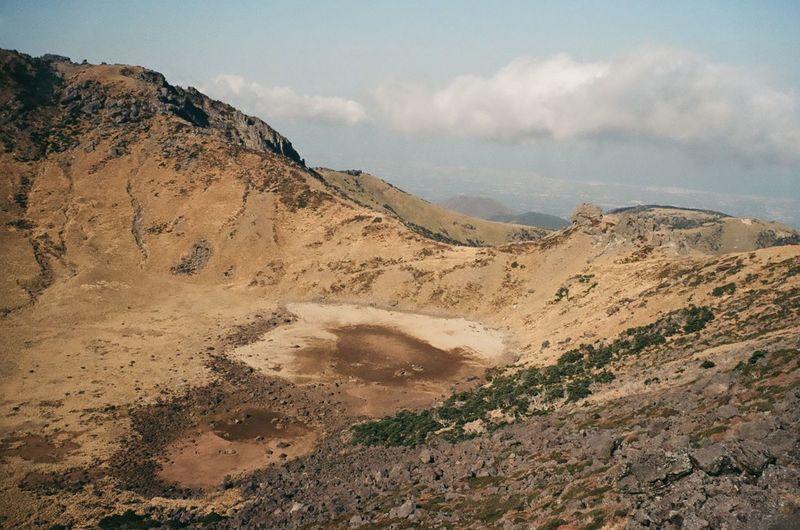 Hanra Mountain Baekrokdam Korea Mountain Landscape Cloud - Sky Sand Nature Sand Dune Sky