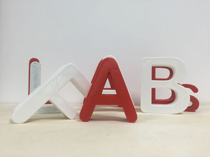 Fablab Lab Fablabs Words Red 3d Printing