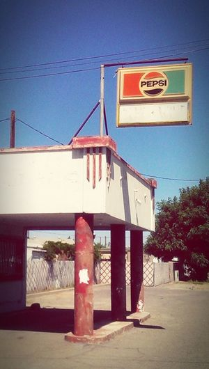 Gas Station Abandoned Buildings Roadtrip Pepsi Streetphotography