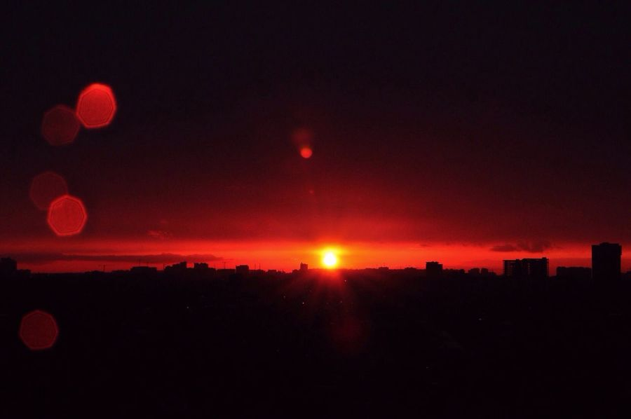 No Filter Sunset Red Sky Sun Amazing View Nature Catchingfire Fire In The Sky Burning Sky Edge Of The World EyeEmNewHere