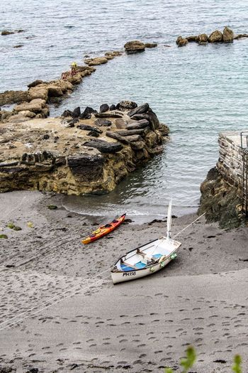 Check This Out Hanging Out Cornwall Beach Boat Footprints United Kingdom England Enjoying Life Landscape