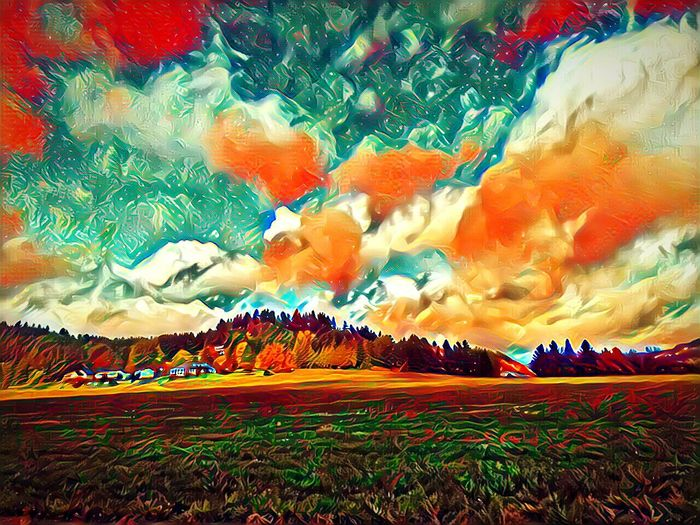 Beauty In Nature Low Angle View Scenics Cloud - Sky Growth Harvest Time Cold Temperature Small Town America Fall Colors October Afternoon Capturing Motion Essence Of Fall Vibrant Color Tranquility EyeEm Photo Of The Day Outdoors Photograpghy  The Week On EyeEem Outdoors Road Autumn Isnt Nature Grand? No People Willamette Valley The Way Forward Dramatic Sky