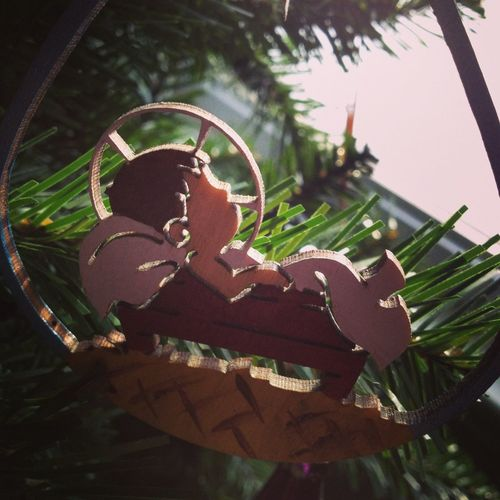 Morning At The LaValle's, Sun Is Shining On The Baby Jesus.