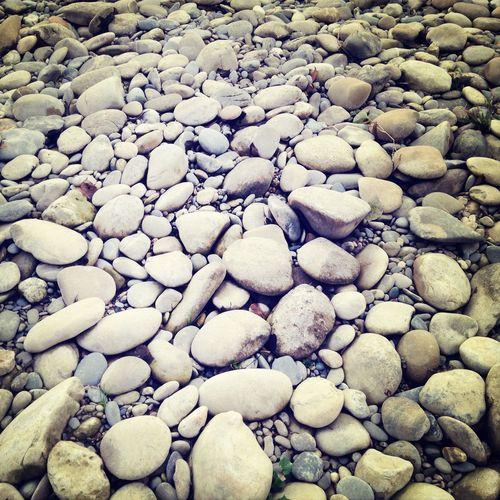 Full frame of stones