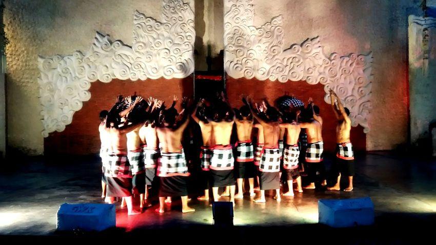 AI Now EyeEm Best Shots EyeEm Gallery Indoors  Kecak Dance Peoples Traditional Dancers Beautiful Colors Bali_the Great Indonesia