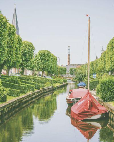 Holland Friesland Boat Streetview Streetphotography Ijlst