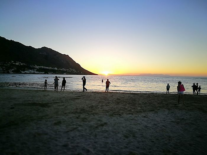Sunset In Gordons Bay . Cape Town