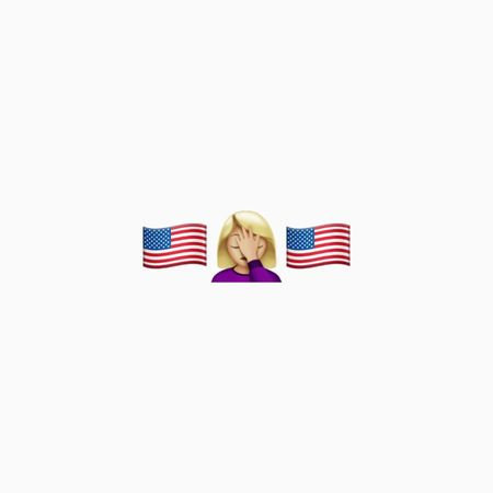 Hillaryclinton Hillary Clinton Hillary Sad Sadness Loss Election Presidential Election 2016 Vote USA Defeat American Flag