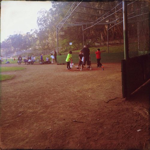 Batters Cage Kids Being Kids Coach SF