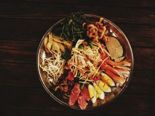 Food And Drink Bowl Indoors  Table Healthy Eating Food Freshness Ready-to-eat No People Meat Serving Size Close-up Day Cooked Thaifood ตำถาด ตำลาว
