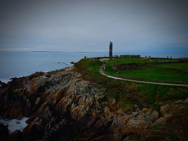 Sea Horizon Over Water Beach Lighthouse Outdoors Landscape Water Beauty In Nature Nature first eyeem photo