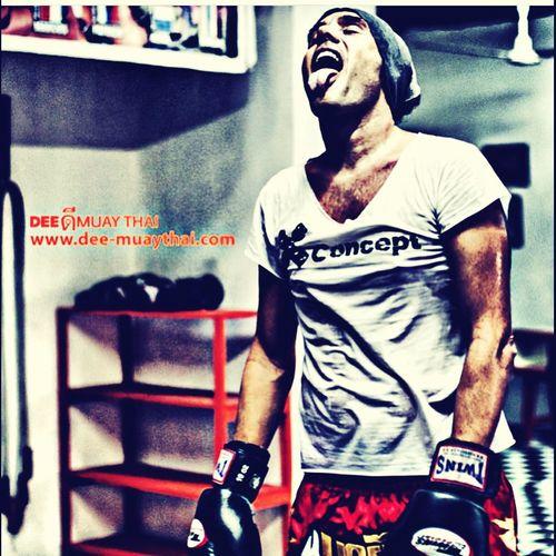 MuayThai Boxer Training Gym
