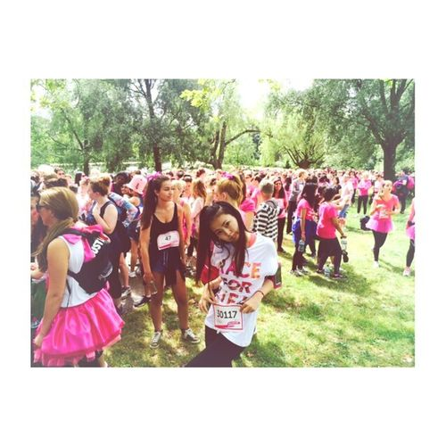 race for life 2014 London Cancerresearchuk