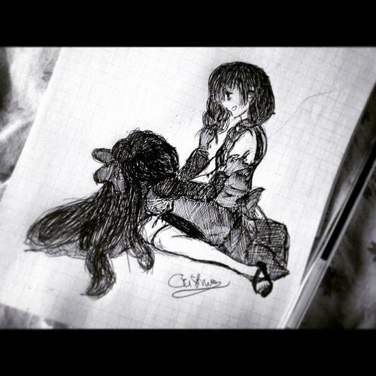 Ma noi...siamo amiche...giusto? Drawing MyDrawing Draw TheWitchshouse Viola ELLEN Rpg Videogame  Fanart Drawingoftheday Disegno Disegni Disegnare Lovedrawing Rcnocrop Artistiq_universe