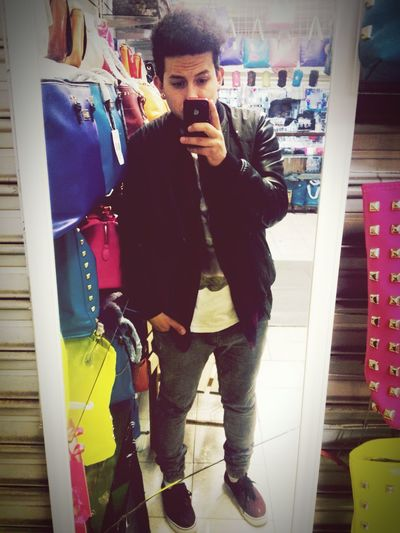 Outfit de hoy ??? Style People Of EyeEm People Watching Outfit Men