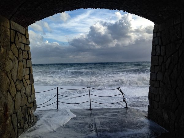 Waves DeivaMarina Ilovethesea Tinkalla Poesia Poetry In Pictures Mare D'inverno Liguria