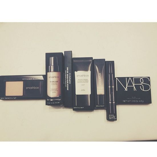 I'm a happy Girl ??????? Makeup NARS Mac Smashbox inlove