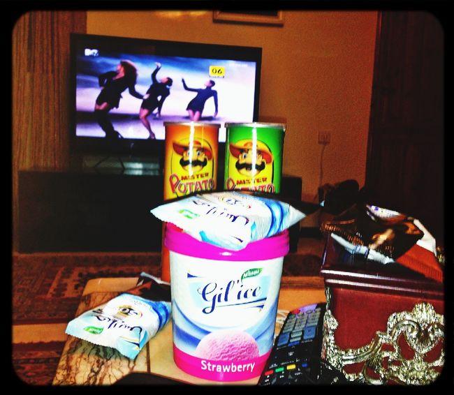 ice cream with MTV