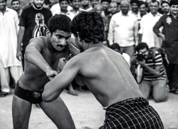 Learn & Shoot: Layering Kushti Blackandwhite Blackandwhite Photography Asianwrestling Strangers Strangersinmypost Wrestler