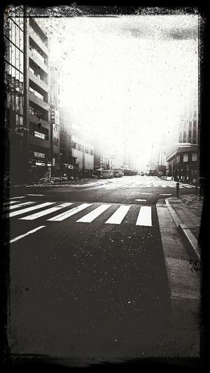 寝る。 Good Morning Bw_ Collection Kyoto Cloudy Day