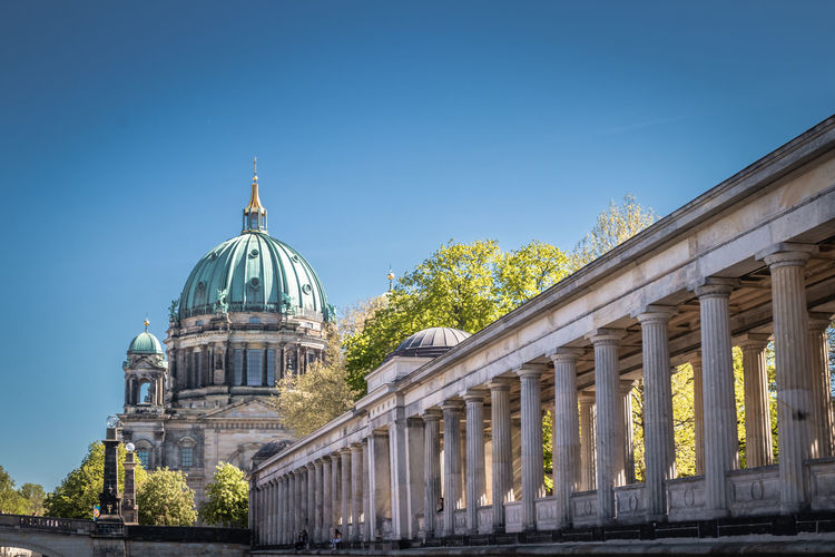 Berlin cathedral, and museum island, museums insel,  berlin, germany, europe