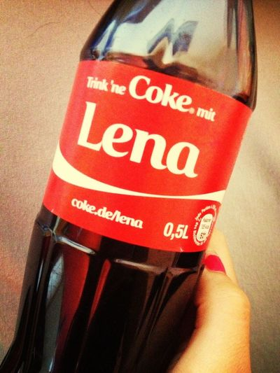 Drink A Coke With... Lena :D