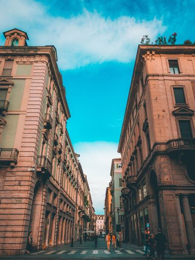 💙 Architecture Building Exterior Built Structure Sky Building Cloud - Sky Nature Low Angle View City Day Residential District No People Outdoors Travel Destinations Travel The Way Forward History Direction The Past