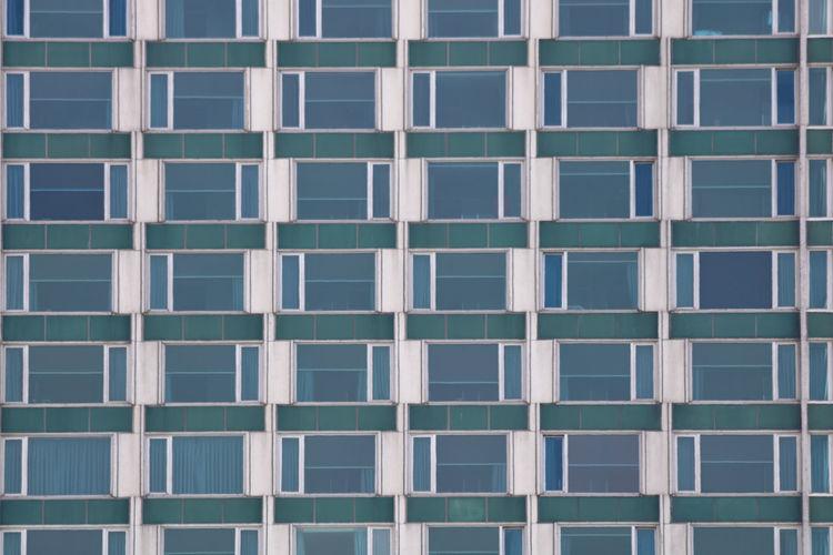 Abstract facade of a builiding