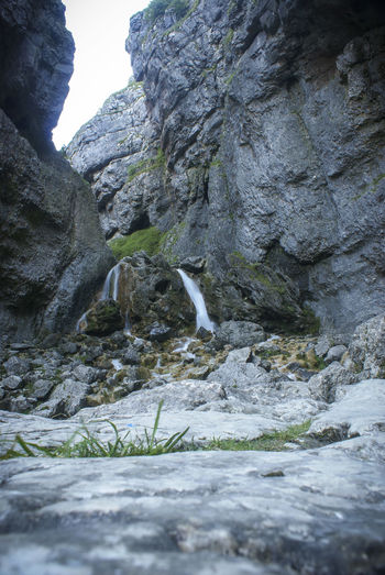 Beauty In Nature Day Gordale Scar Nature Non-urban Scene North Yorkshire Outdoors Rock Formation Scenics Tranquil Scene Tranquility Water Waterfall