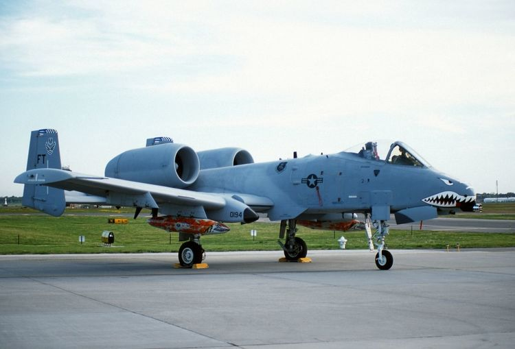 A-10 A-10 Warthog Air Show Airplane Color Day McguireAFB Military No People Thunderbolt II