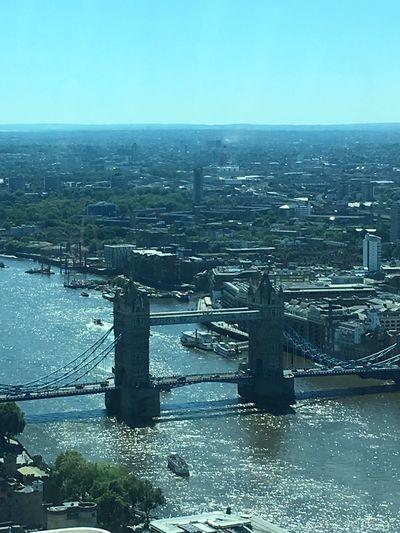 Skygarden London Building Exterior Cityscape River City Clear Sky