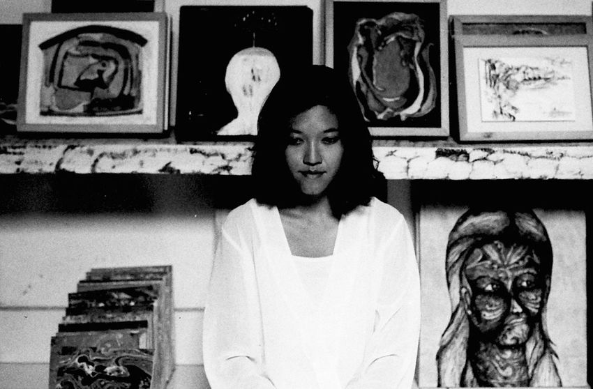 in the gallery 35mmfilm Analogue Bali Copy Space Fine Art Photography INDONESIA Millenials Portrait Of A Woman Album Cover Asian Girl Blackandwhite Contemplative Day Fashion Model Film Photography Moody Portrait One Person Real People Ubud Young Adult Young Women