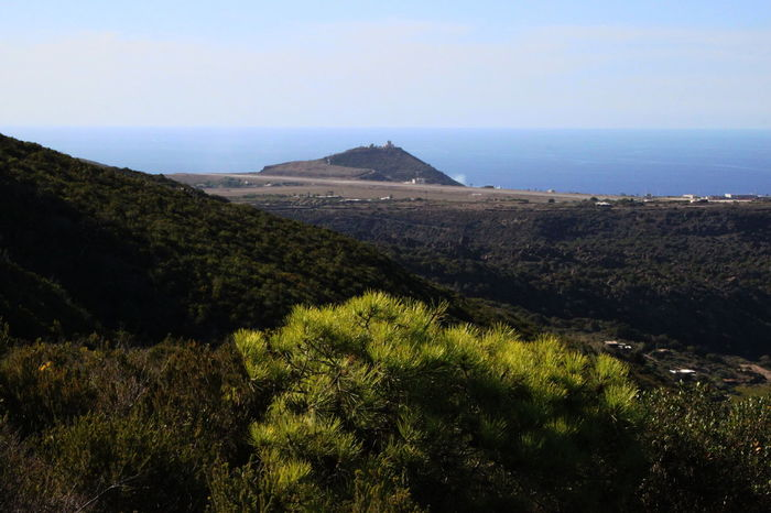 Pantelleria Beauty In Nature Clear Sky Day Grass Horizon Over Water Landscape Mountain Nature No People Non-urban Scene October 2015 Outdoors Plant Scenics Sea Sky Tranquil Scene Tranquility Water