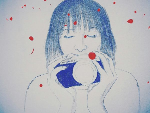Paint Girl Mobilephotography Ayumi Photo Valentine9月14