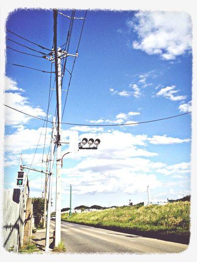 Photo Sky Traffic Signal