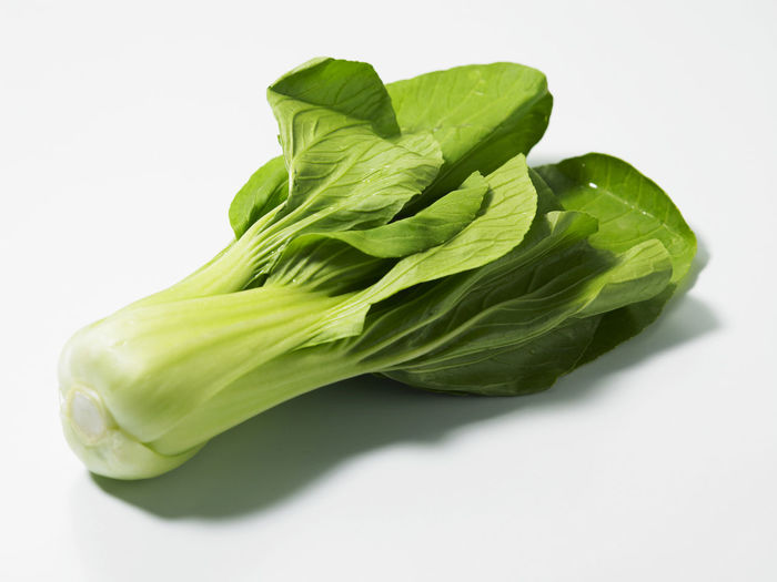 Bok Choy, fresh chinese cabbage Chinese Cabbage Bok Choy Close-up Cut Out Food Food And Drink Freshness Green Color Healthy Eating Indoors  Leaf Lettuce Nature No People Plant Part Still Life Studio Shot Vegetable Wellbeing White Background
