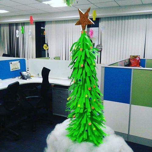 Christmas2015 Celebration Allready Started Dimensiondata Bengaluru Manyata_tech_park Handmade Teamwork Beautiful Picoftheday Loveit ThroughMyLens Throughmyeyes