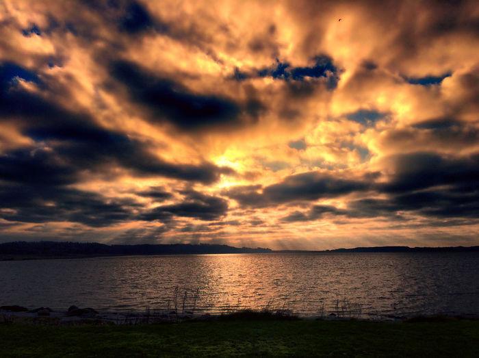 Tadaa Community Danmark Sebbersund Clouds And Sky Sunset