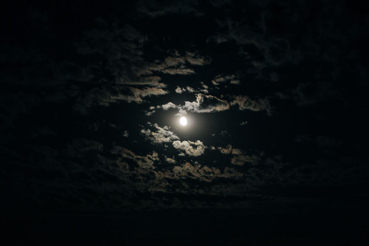 Sky Night Beauty In Nature Cloud - Sky Moon Astronomy Space Scenics - Nature Tranquility Full Moon Nature Tranquil Scene Moonlight Low Angle View No People Glowing Dark Solar Eclipse Outdoors Eclipse Planetary Moon