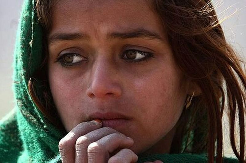Behind those eyes... Portrait Faces Afghan Girl Sad Eyes Tired Souls So Much Emotion People Photography Around The World