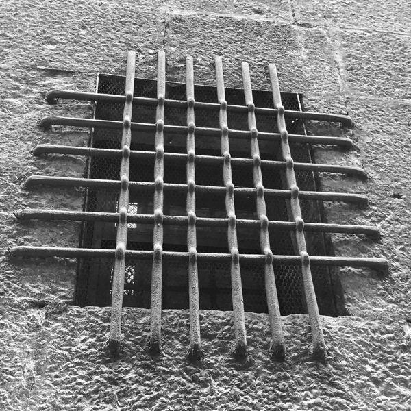 Prison Bars No Escape