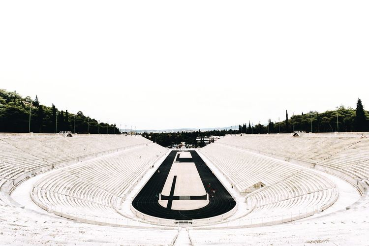 Minimalistic Minimalism Architecture Stadium