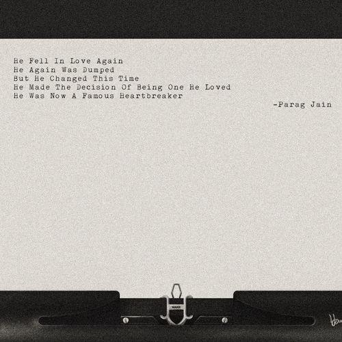 Grain Heartbreak No People Short Story Tranquil Scene Tranquility Typewriter