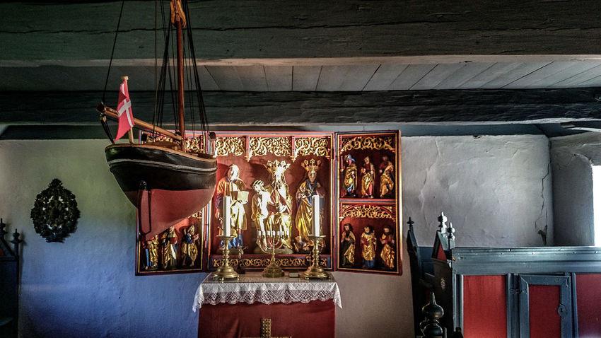 Naval Maritime Seamen Church Kirke Denmark Ship Modeling