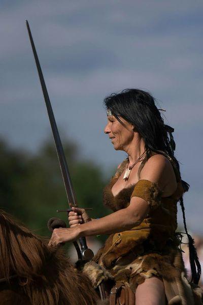 Cavaliere Guerrière Legends Autour De Chez Moi Horse Cheval Medievale Mythology Fantasy Photography Women
