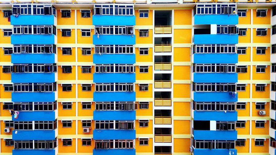 Singapore Life Living Flats Hdbflats Oldestate Vibrant Colors Blocks Here Belongs To Me