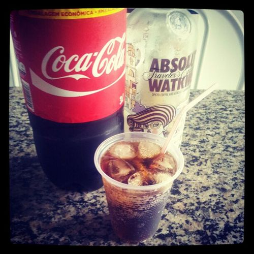 ABSOLUT Watkins Caf é Cocacola goodmorning